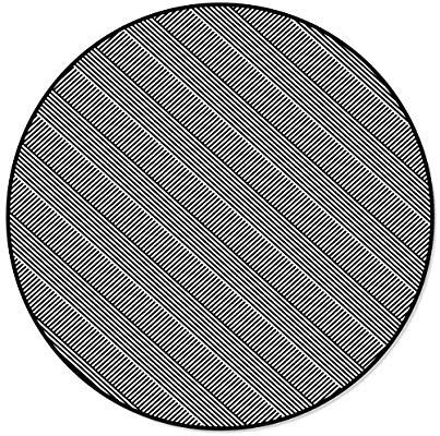 onehoney round area rugs black and white stripes indoor entryway doormat throw runner rug floor carpet pad yoga mat round area rugs floor rugs carpet padding