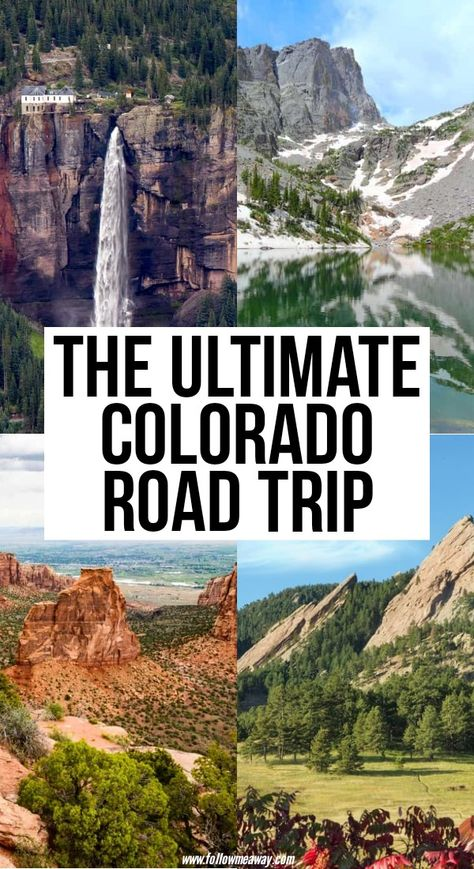 The Perfect Colorado Road Trip Itinerary You Should Steal - - Planning your next Colorado road trip? We're here to help. These 9 stops will take you through some of the best landscapes and towns Colorado has to offer. Estes Park Colorado, Vail Colorado, Denver Colorado, Winter Park Colorado, Pueblo Colorado, Chevy Colorado, Road Trip To Colorado, Us Road Trip, Colorado Hiking