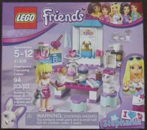 LEGO 41308 Friends Stephanie/'s Friendship Cakes NIB