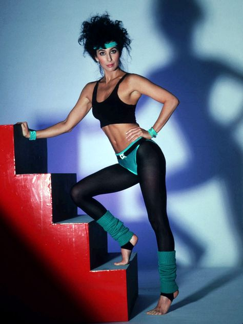 Style Flashback: Eighties Fashion, the Fitness Edition January 2019 From left: Jennifer Beals in Flashdance Olivia Newton-John in the music .