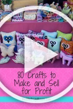 Ever Wonder If You Could Make Any Money Selling Crafts Check Out