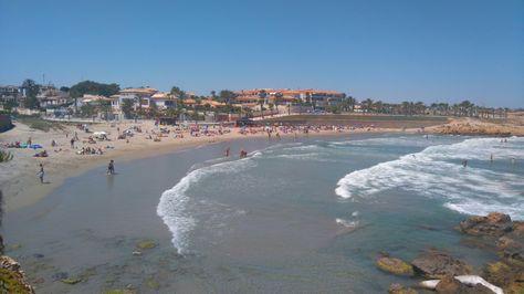 Playa Flamenca beach ☺💖