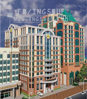 خربشات مهندس مخططات معمارية مبنى مكاتب ادارية Ct Vp اوتوكاد Dwg Building Autocad Structures