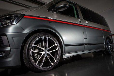Abt Sportsline Volkswagen Transporter T6 Tdi Zwart Rood 01