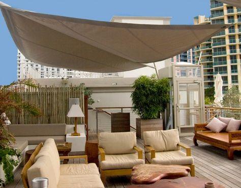 Dachterrasse Sonnenschutz Outdoors Rooftop Oasis Pinterest