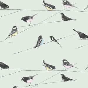 John Lewis Bird On A Wire Wallpaper Putty In 2020 Wallpaper Bedroom Home Wallpaper Living Room Bird Wallpaper Bedroom