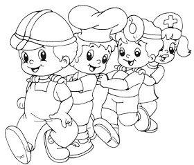 Dia Del Trabajo Dia Del Trabajador Colores Dibujos