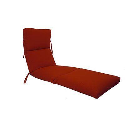 Beachcrest Home Kellner Indoor Outdoor Sunbrella Chaise Lounge
