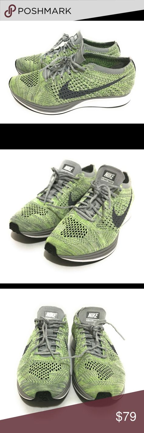 2a81cd3e73801e Nike Flyknit Racer Running Shoes Grey  526628 103  Nike Flyknit Racer  Running Shoes White