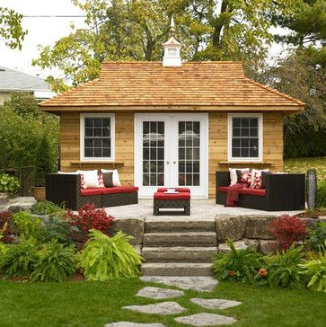 749 best garden sheds images on pinterest pool houses cabana