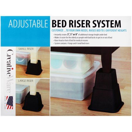 Home Bed Risers Adjustable Bed Risers Adjustable Beds