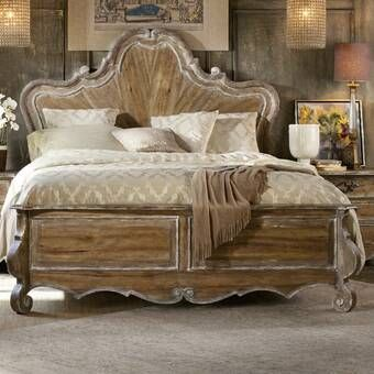 Michael Amini Windsor Court Standard Bed & Reviews | Perigold