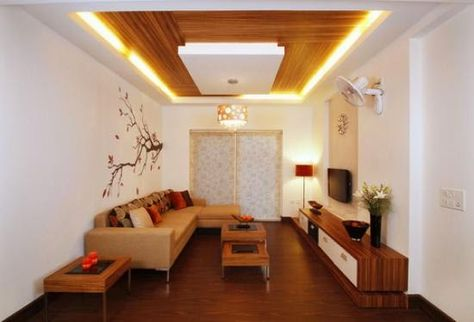 False Ceiling Designs For Living Room With Ceiling Lights And
