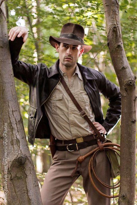 Indiana Jones Cosplay … | Indiana jones costume, Safari