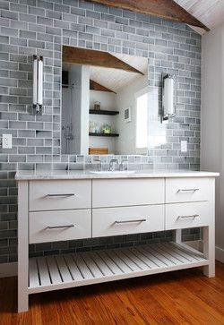 Bertch Interlude Vanity. Stylish Furniture Piece For Your Bathroom!  Available From Arrowhead Supply In Duluth, MN