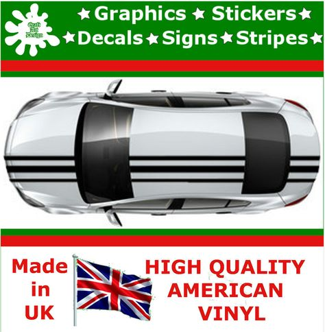 4 5 racing stripes sticker vinyl decal art car auto rally graphics jdm tq 1 racing stripes and graphics