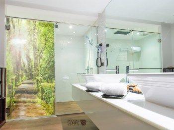 Sichtschutz Fur Die Dusche Glasgravur Folie Glasduschen Duschabtrennung Dusche