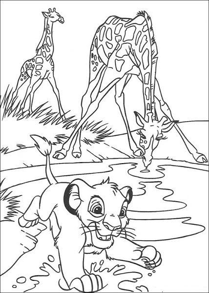 Disney Pixar Cars Coloring Pages Online Lion King Coloring Pages 1 Coloringpages Giraffe Coloring Pages Lion Coloring Pages King Coloring Book