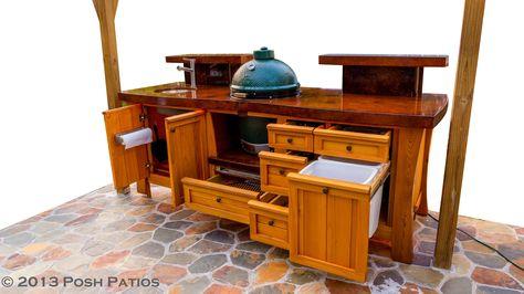 106 Best Big Green Egg Tables Images On Pinterest | Big Green Egg Table,  Big Green Eggs And Outdoor Kitchens