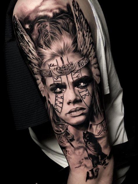 best_tattoos_ig__ - only best tattoos Leg Tattoos, Body Art Tattoos, Girl Tattoos, Tattoos For Guys, Sleeve Tattoos, Tattoo Ink, Thai Tattoo, Maori Tattoos, Samoan Tattoo