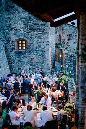 Red White And Green Destination Wedding In Bagnolo Piemonte