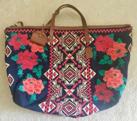 Guatemala huipil checkbook bag chichi embroidered both sides many colors unique!
