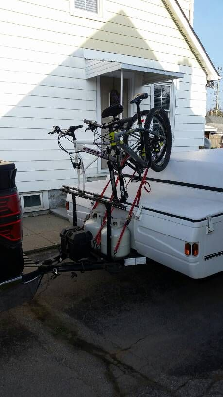 Has Anyone Used Solely Alumninum Tube And Angle To Make Their Pro Rack Bike Rack Popupportal Bike Rack Diy Bike Rack Bike