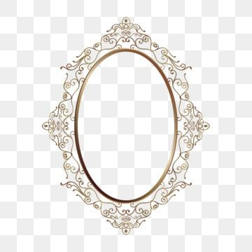 Oval Frame Gold Decorative Ornament Classic Royal Background Vector Png And Vector With Transparent Background For Free Download Luxo
