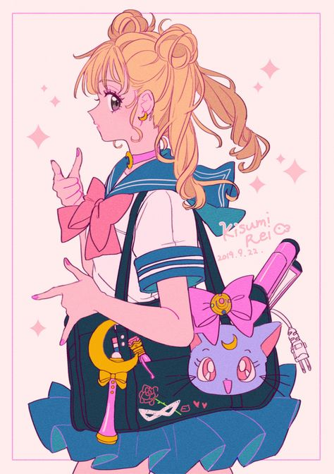 Sailor Moons, Arte Sailor Moon, Sailor Moon Fan Art, Sailor Moon Usagi, Sailor Venus, Sailor Scouts, Sailor Moon Aesthetic, Aesthetic Anime, Sailor Moon Kristall