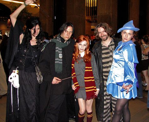 Ginny in harry potter costume group