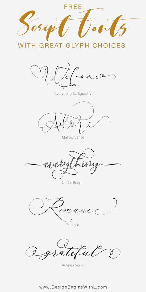 Modern Script Font, Script Fonts Free, Free Type Fonts, Free Modern Fonts, Monogram Fonts Free, Elegant Fonts Free, Free Typography Fonts, Romantic Fonts, Font Free