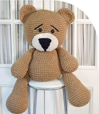 urso Amigurumi no Elo7 | Ateliê Solange Freitas (E07171) | 452x394