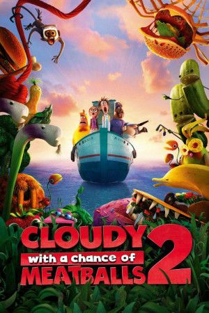 Movie Cloudy With A Chance Of Meatballs 2 Meatballs Animated Movies 2 Movie