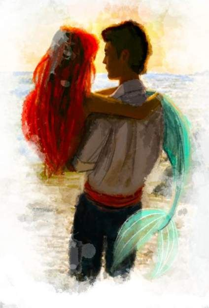 Drawing mermaid prince eric 68 ideas