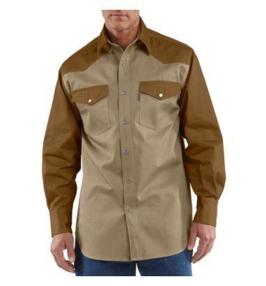 e979011d5d10 Carhartt - Product - Men s Snap-Front Twill Work Shirt