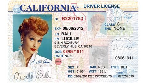 M A C U S A Identification Card Id Card Template Drivers License California Drivers License