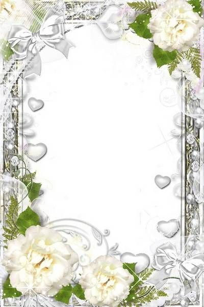 Image Result For Pearl Border Paper Flower Frame Flower Frame Png Flower Photos