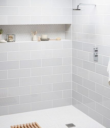Justnile 4 Piece Elegant Luxurious Translucent Grey Bathroom
