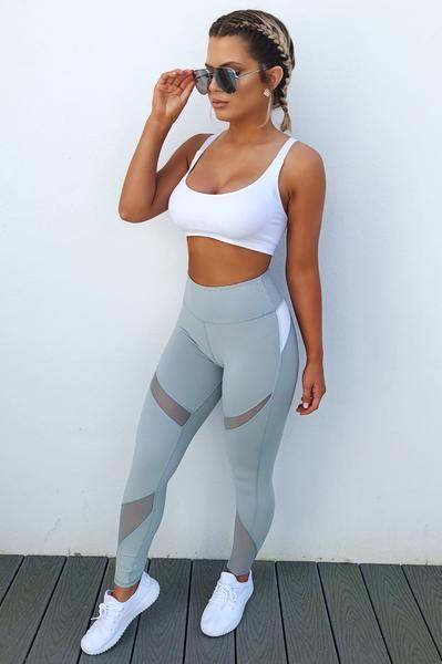 Preorder Making Progress Sports Bra White Workout Attire Cute Workout Outfits Workout Clothes Cheap