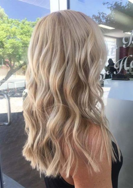 Hair Color Blonde Shades Waves 47 Ideas In 2020 Blonde Hair Shades