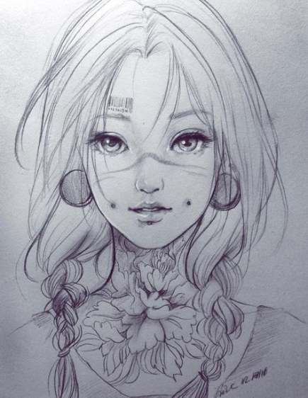 New Drawing Girl Faces Sketches Manga Anime Ideas Anime Art Beautiful Anime Drawings Anime Art