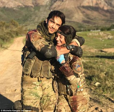 Our Girl: Michelle Keegan and Luke Pasqualino have steamy sex scene