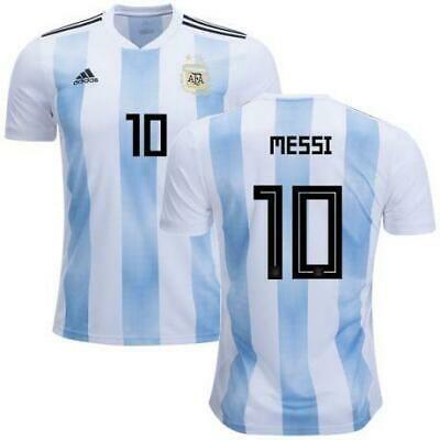 Nouveau 2018 ARGENTINE International Adult Male Home Football Shirt