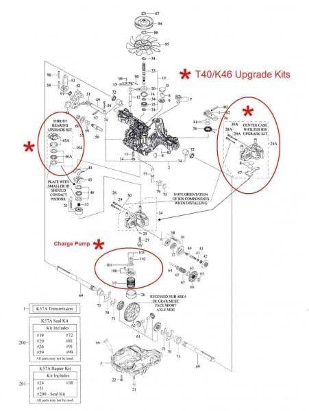 Tuff Torq K46 Rebuild Kit : rebuild, Tufftorq, Repair, Guide, Pictures, Diagram,, Parts,