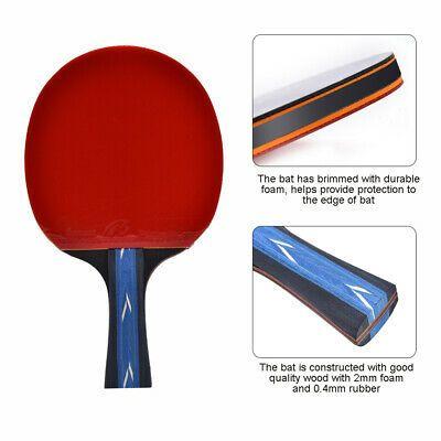 Advertisement Ebay Professional Table Tennis Racket Ping Pong Paddle Bat Hand Shake Grip Bat Ping Pong Paddles Table Tennis Racket Ping Pong