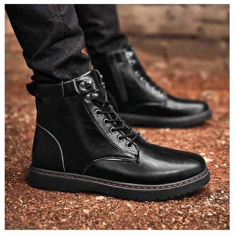 Amazon.com: Tebapi Mens Backpacking Boots Men Boots Fashion