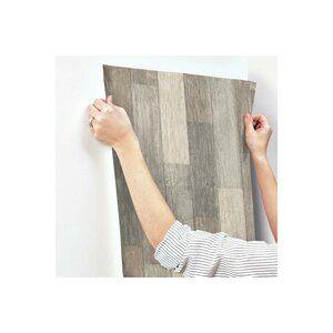 Highland Dunes Chronister Coastal Weathered Plank 16 5 L X 20 5 W Wood And Shiplap Peel And Stick Wallpaper Roll Peel And Stick Wallpaper Wallpaper Roll Weathered