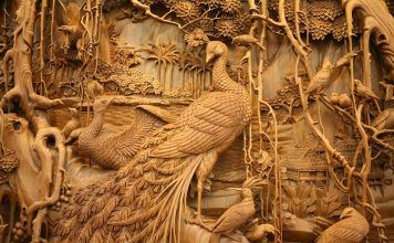 Relief Wood Art Hand Carved Carved Wood Wood Carvings Arts And Crafts Diy Crafts Creative Artwork Carving Designs