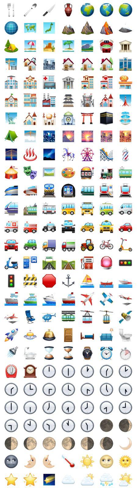 Todos Emojis do Whatsapp - 2017 (com imagens)   Emoticons