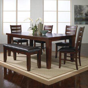 Wood Kitchen Dining Tables Under 700 You Ll Love Wayfair Dining Room Sets Dining Room Furniture Sets Solid Wood Dining Set